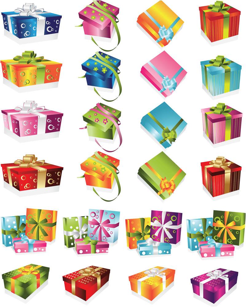 christmas present vector images christmas present vector art christmas gift boxes vector