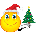 6 Christmas Tree Emoticon Images