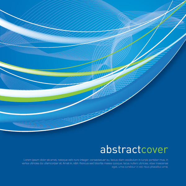 Cover Vector Graphic Abstract