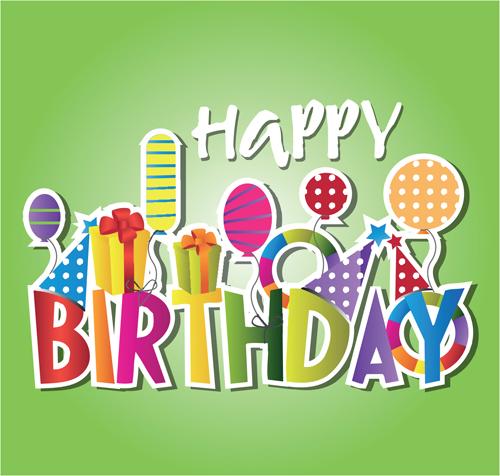 Creative Happy Birthday