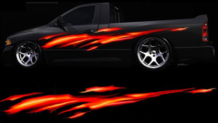 18 Custom Car Graphics Images