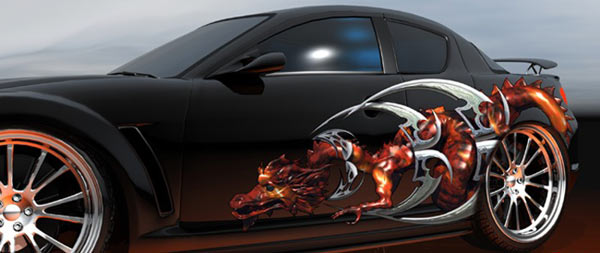 Custom Car Graphics Designs
