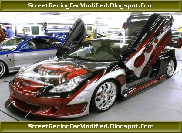 Custom Street Car Graphics