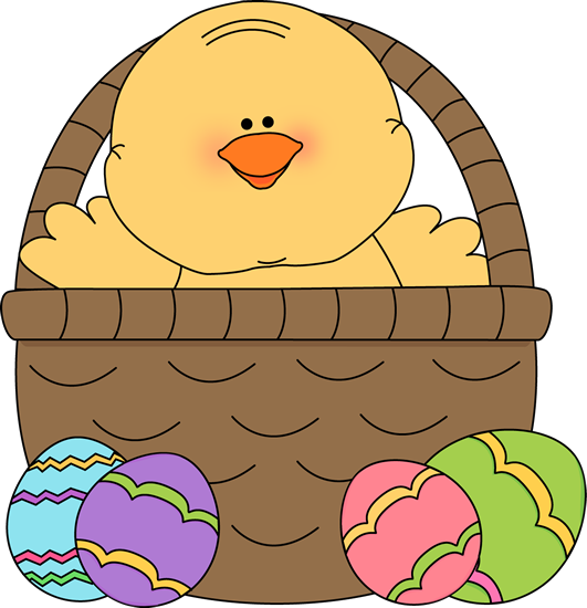 Cute Easter Basket Clip Art