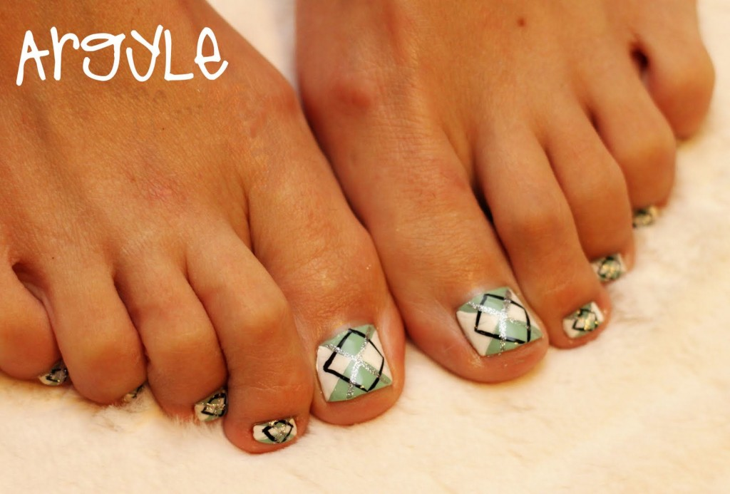 16 Cute Toenail Design Images