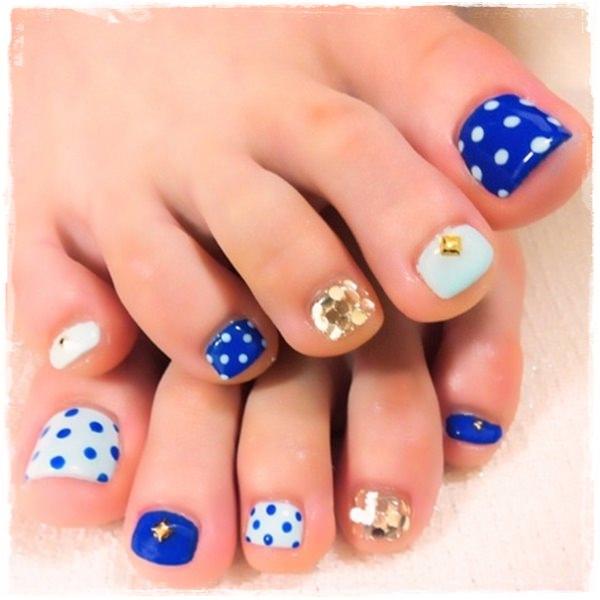 16 cute toenail design images cute toe nail design cute summer cute toe nail design prinsesfo Images