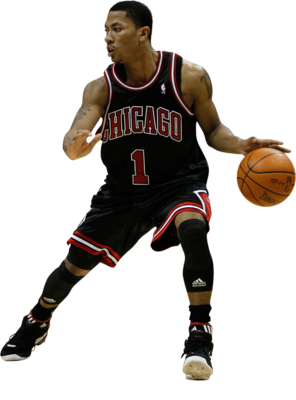 Derrick Rose Transparent