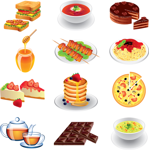 Different Types of Food Cake