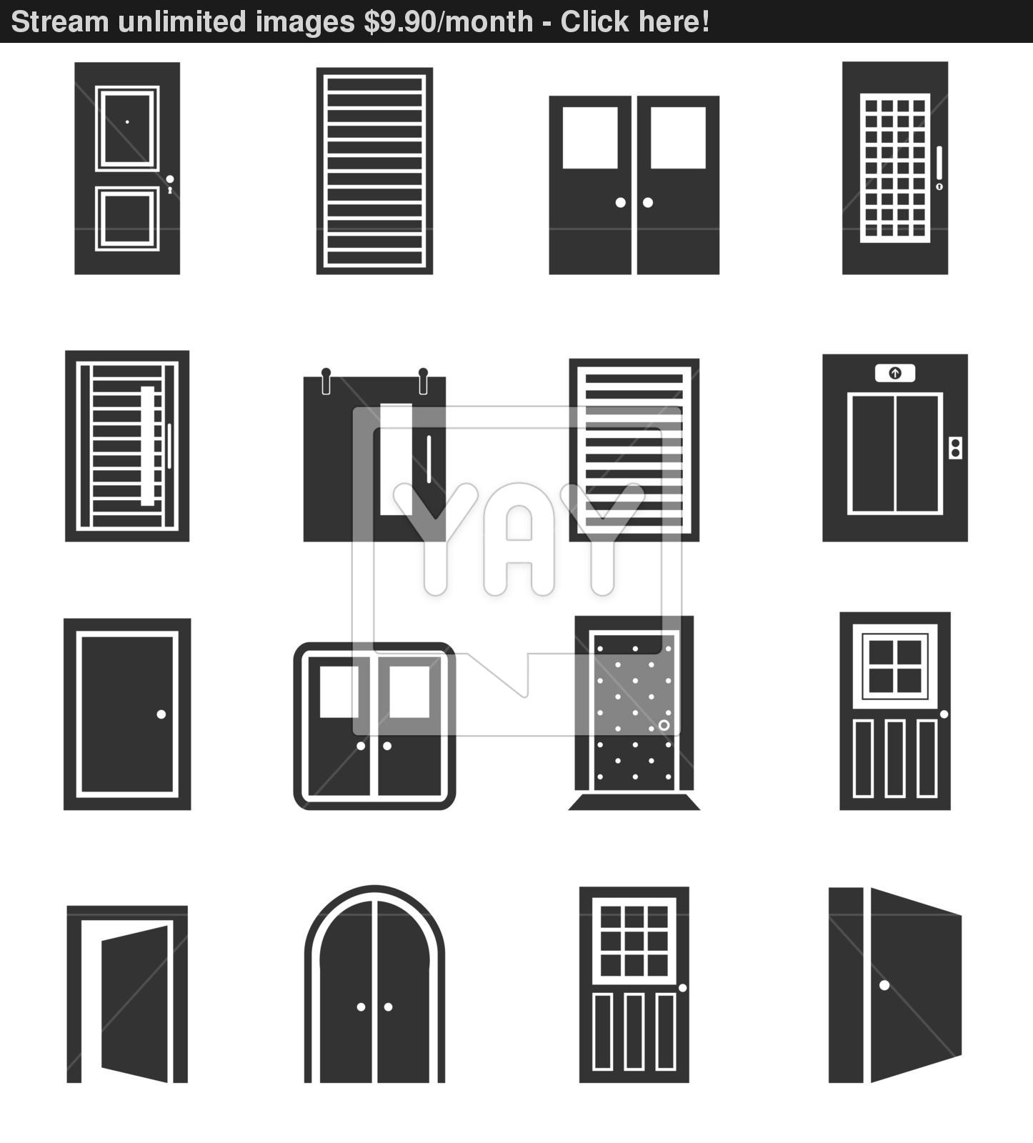 10 vector arch door images arch vector arch window clip for Window design vector