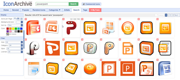Download Free Microsoft PowerPoint Icon