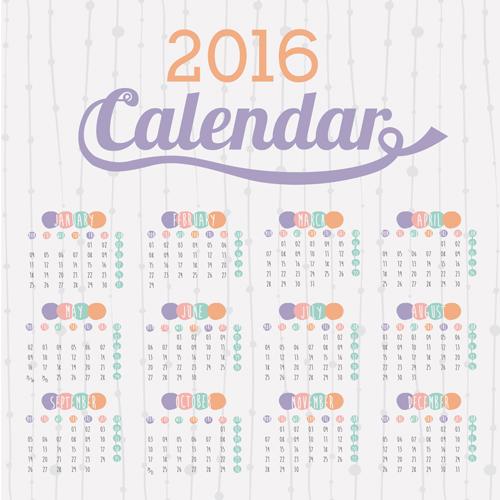 Download Simple Calendar 2016