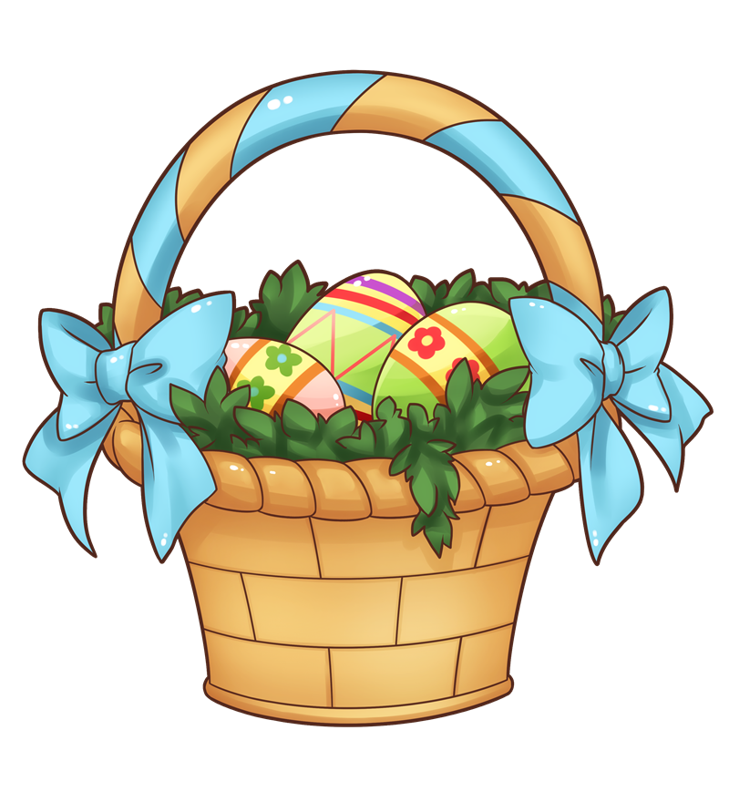 Easter Basket Clip Art Free