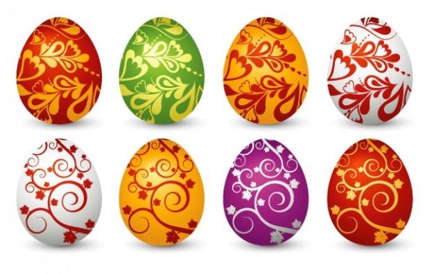 Easter Egg Clip Art Vector