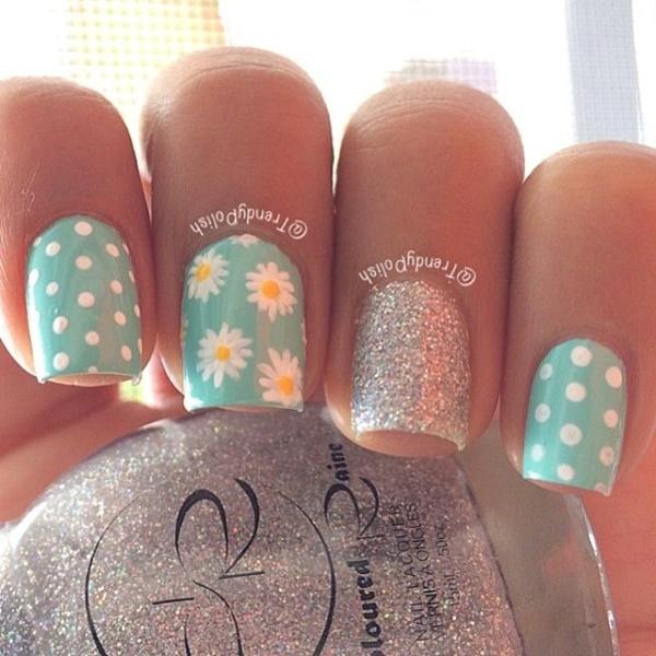 Easy Flower Nail Art Designs for Beginners