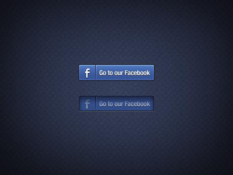 7 Facebook Login Button PSD Images - Facebook Share Button ... Facebook Like Button Psd