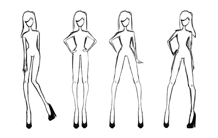 14 Clothing Design Templates Images Fashion Design Sketch Model Template Fashion Clothes Design Templates And Fashion Sketch Body Template Newdesignfile Com