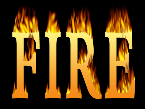 Fire Flame Fonts Free