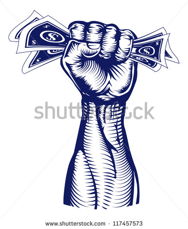 16 Money Fist Vector Images