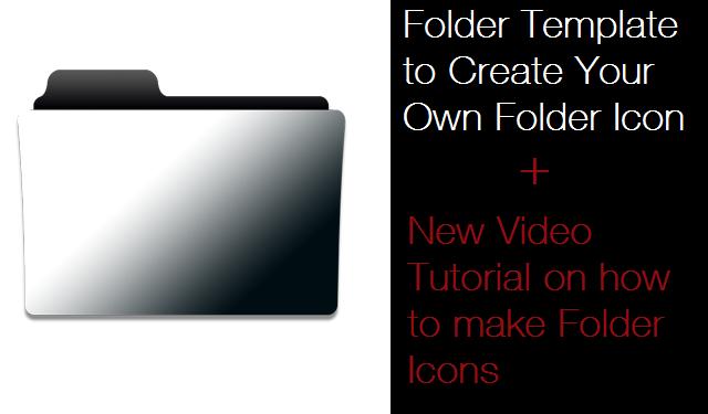 Folder Template Photoshop