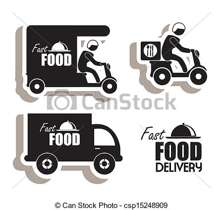 Food Delivery Truck Clip Art Free
