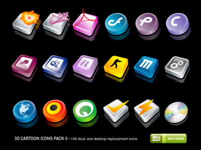 Free 3D Icons Download