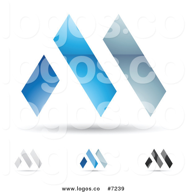 Free Abstract Letter M Logos