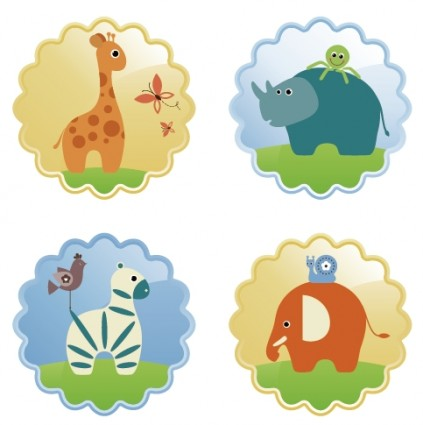 Free Cute Vector Animals