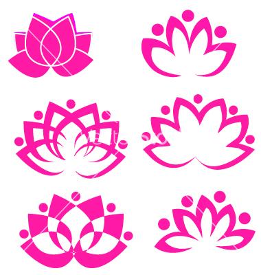Free Lotus Flower Logo