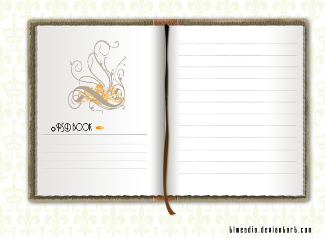 12 Free PSD Of A Notebook Images