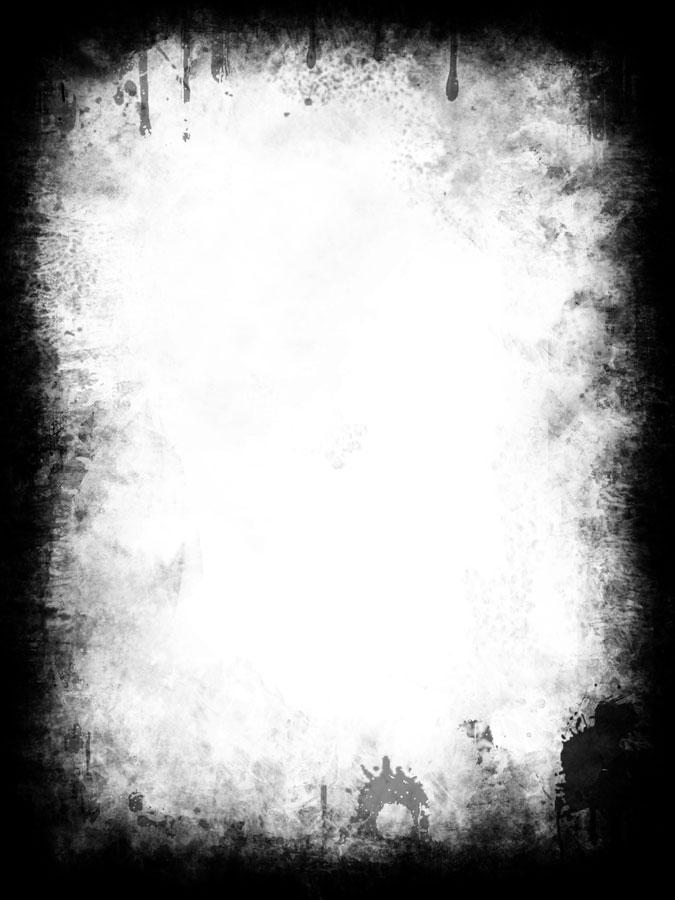 14 Grunge Frames Psd Images