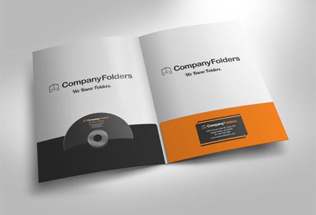 Free Presentation Folder Design Templates