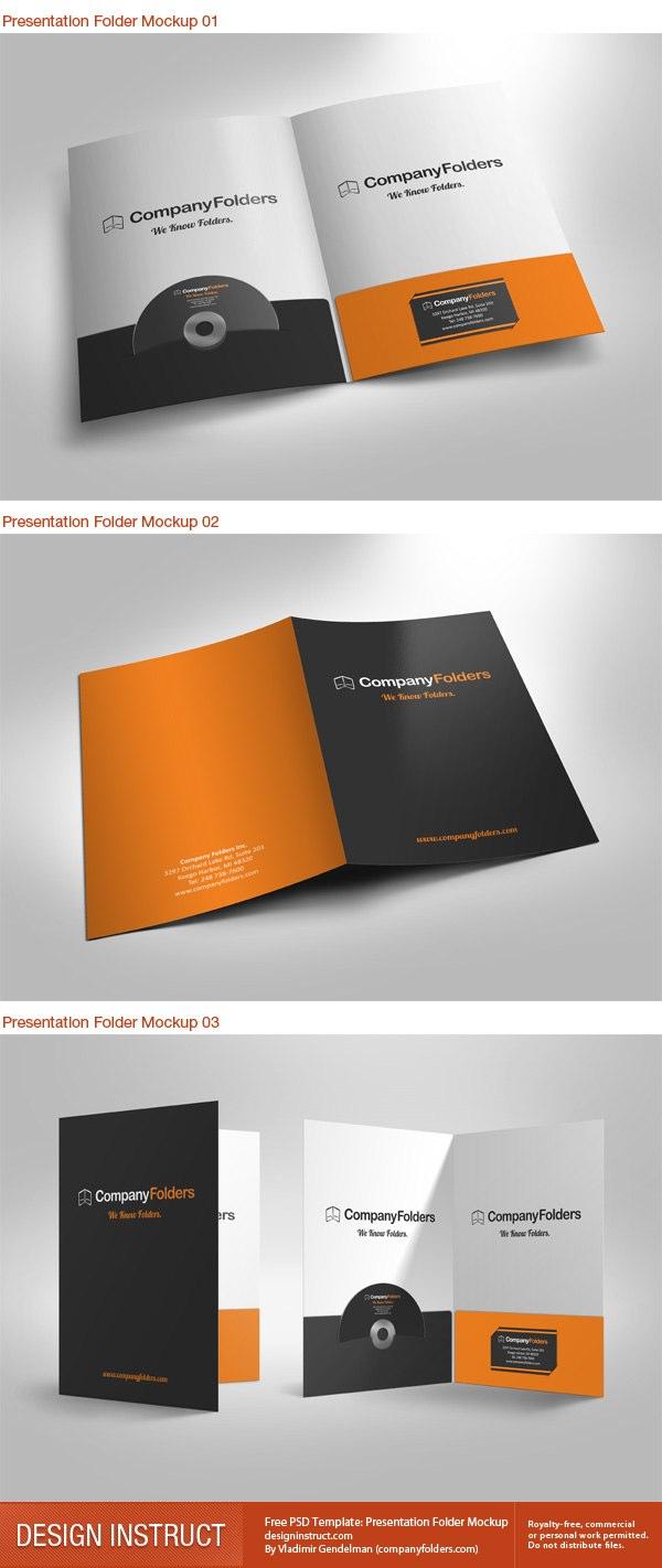 Free Presentation Folder Templates