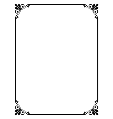 Free Simple Borders and Frames