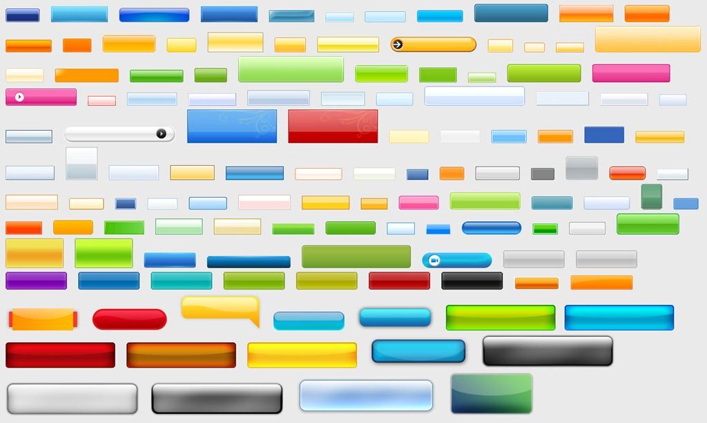 15 Web Design Buttons Images