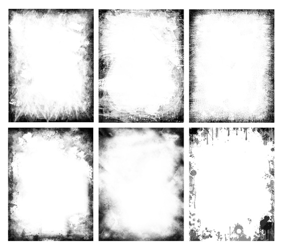 Free Western Photoshop Frames Template
