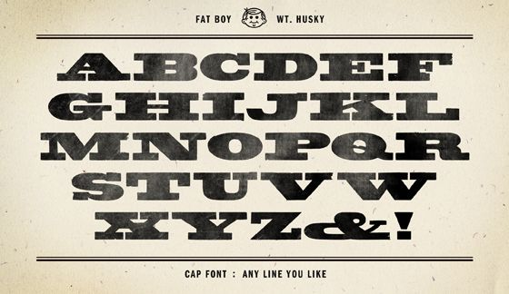 13 Wood Type Fonts Images