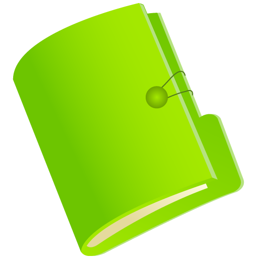 8 Green Folder Icon Images