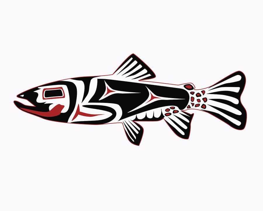 Haida Fish Art
