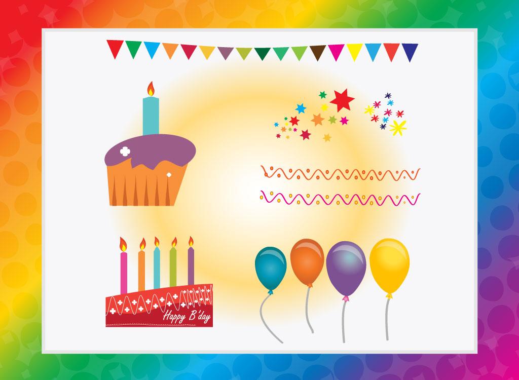 Happy Birthday Vector Free