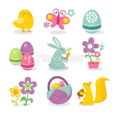 Happy Easter Icons Free