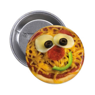 Happy Pizza Face