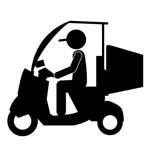 Home Food Delivery Clip Art