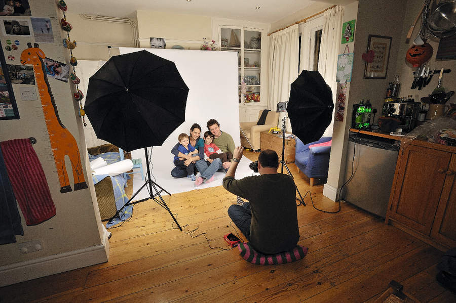15 Portrait Photography Home Images Home Photography Studio Set Up