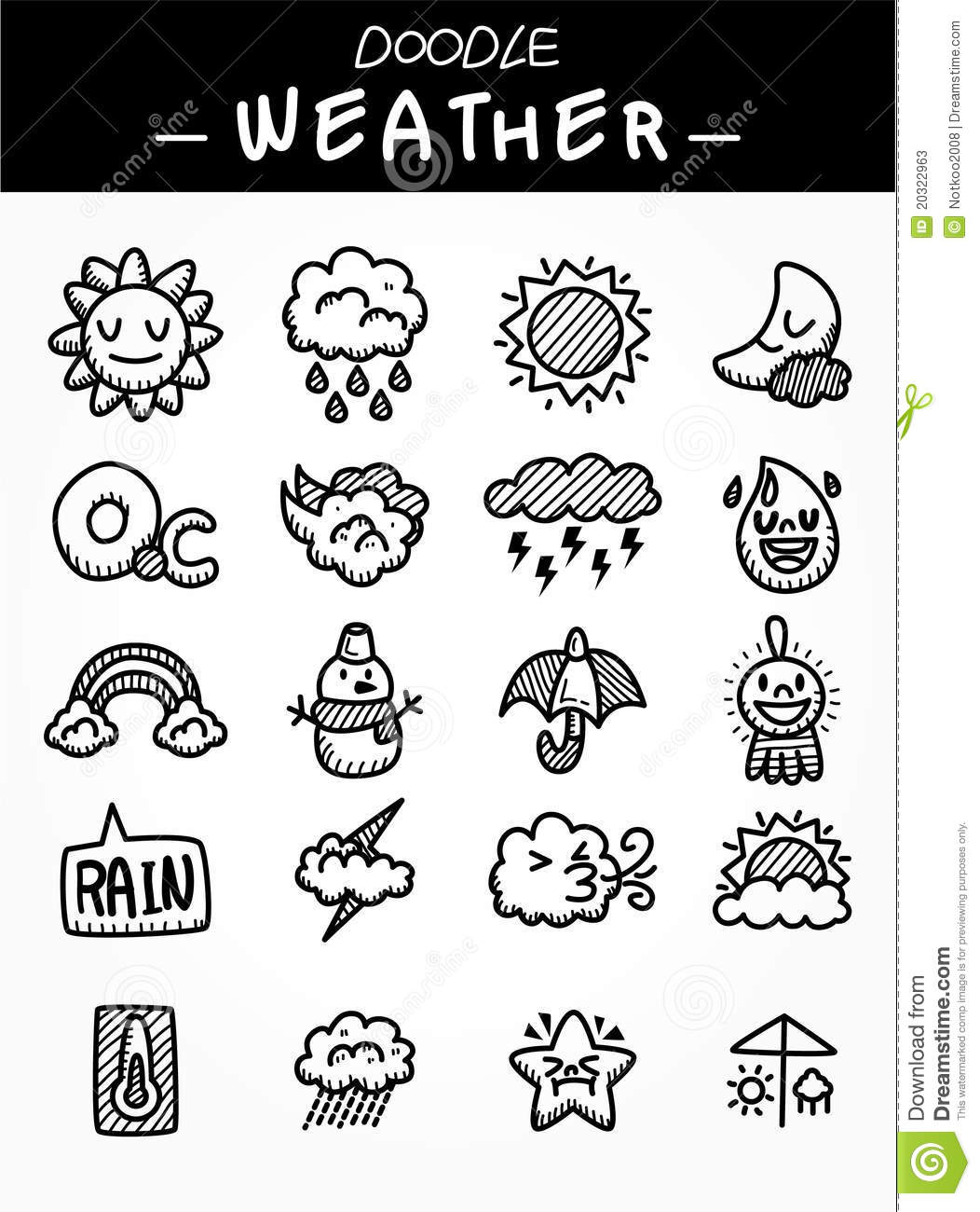 How to Draw Cartoon Weather