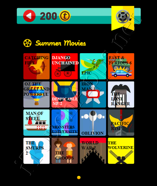Icon Pop Quiz Answers Summer Movies