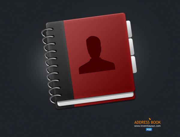 Icon PSD Free Download Books