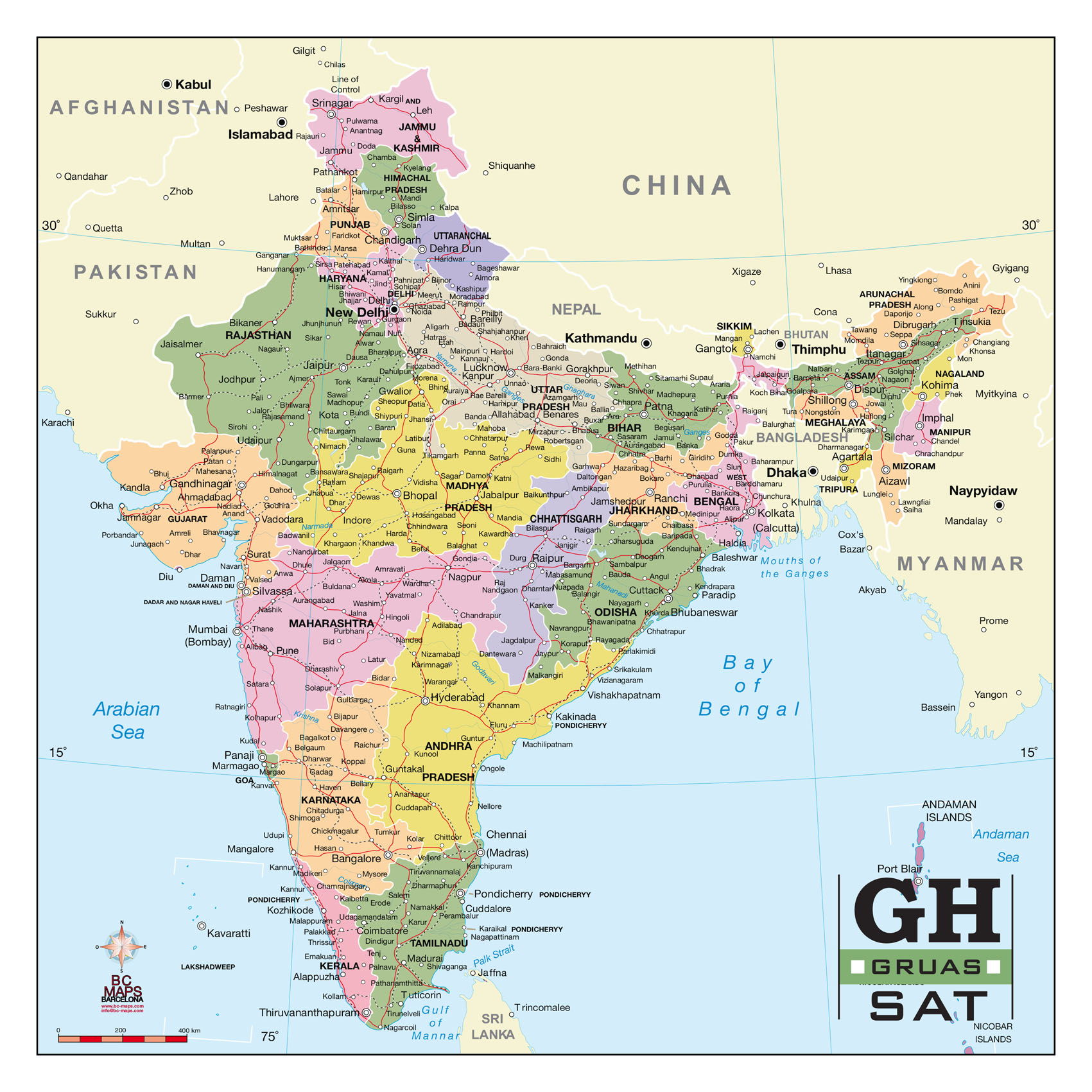 9 India Map Vector Images India Map With Cities Download Free