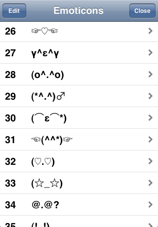 Iphone Text Emoticons List 5 Dirty Emoticon Symbols Images