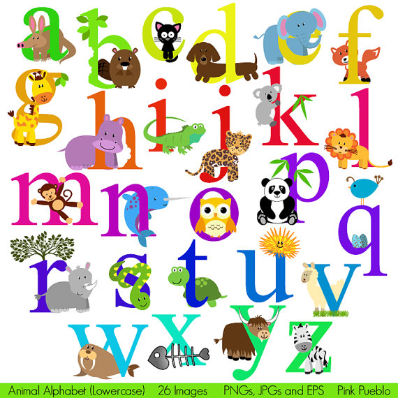 10 Zoo Animal Font Images