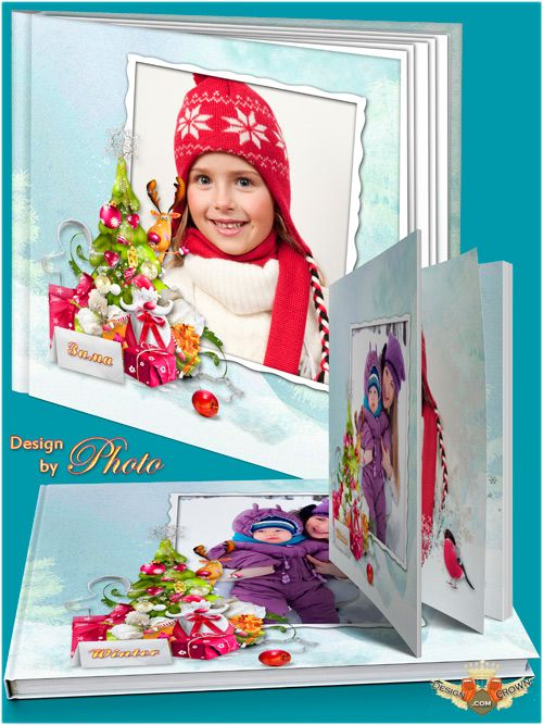 Kids Winter Theme Book Covers